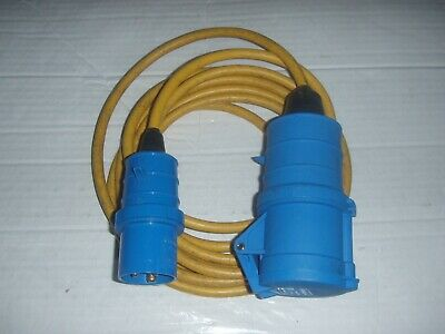 16 AMP To 32 AMP 3 PIN COMMANDO PLUG TO SOCKET 240V Converter Changeover Cable