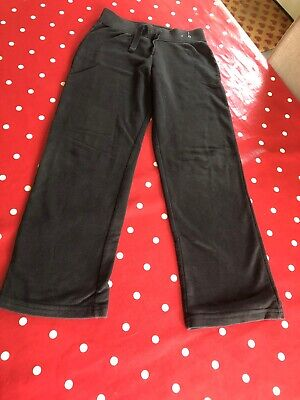 Girls Black Jogging Bottoms Age 9-10 Years From George
