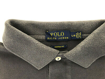 Ralph Lauren Polo Custom Fit Gents Long Sleeved Top - Size L