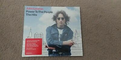 John Lennon Power To The People The Hits CD - Brand new & sealed