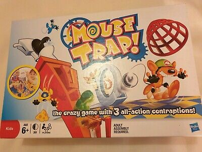 Mouse Trap kids board game 100% complete good condition family fun game