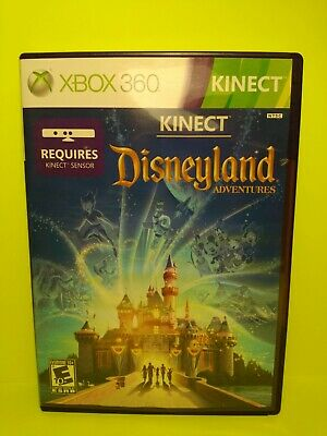 FREE SHIPPING**[Kinect Disneyland Adventures]***Xbox 360,Kids Game, Complete,CIB