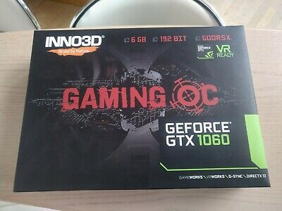 Grafikkarte NVIDIA GeForce GTX 1060 6GB Inno3D Gaming OC GDDR5