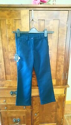 Girls Next Navy School Trousers BNWT Age 9 Years