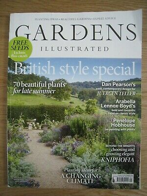 Gardens Illustrated September 2019 Only £5.50!!!!!! + Free P&P