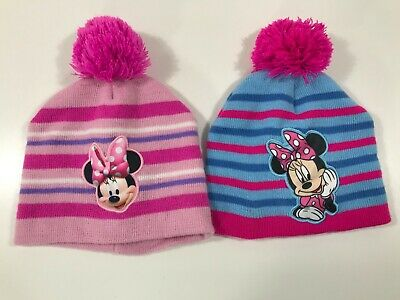 Disney Girl's Minnie Mouse 2 Stocking Hats