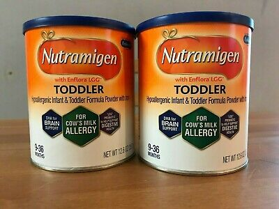 4 Cans Nutramigen Toddler 12.6 Oz FREE SHIPPING