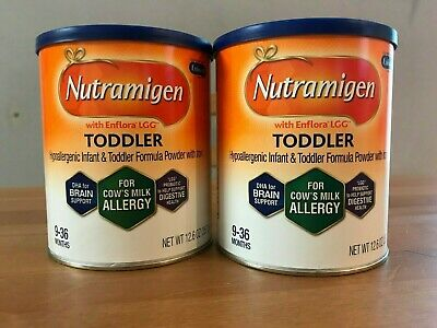6 Cans Nutramigen Toddler 12.6 Oz FREE SHIPPING
