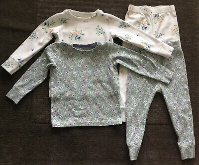 NEXT TWO Girls Floral Pyjamas Age 1.5-2 Years 18-24 Months