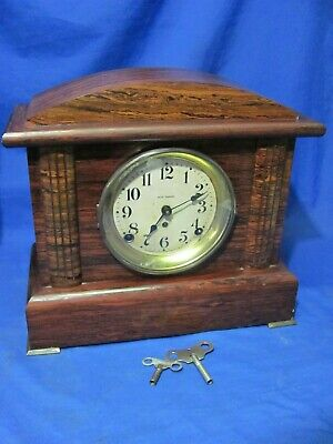 Nice Antique Working Seth Thomas Shelf Mantle Clock
