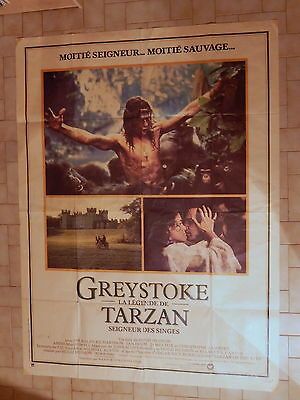 Poster Advertising Movie Greystoke the Legend Tarzan 1984 Hugh Hudson
