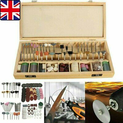 223Pcs Rotary Accessory Grinding Tool Set Polishing Cutting Bit Kit Craft Tools