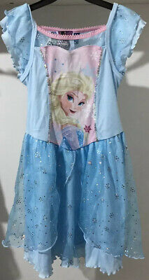Disney Frozen Nightdress With Elsa For Girl Age 6-7.New With Labels £9