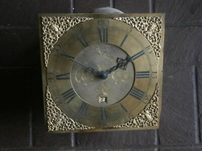 C1750 30hr   LONGCASE GRANDFATHER CLOCK DIAL+movement 11 inch       FRANs PILE ,