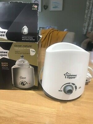 tommee tippee electric bottle water