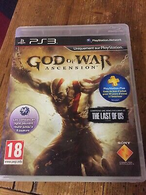 God of War Ascension - Jeu Ps3 - Tbe Complet