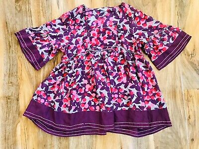 Stunning Girls Monsoon Floral Tunic Blouse Age 10-11 Years