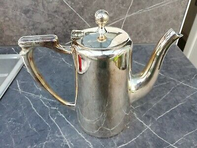 Mappin and Webb Silver Plate 1 & 1/2 Pint Coffee Pot W27019