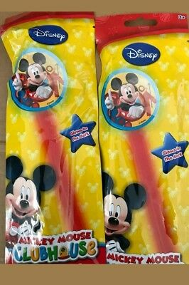 wholesale joblot 36 mickey mouse glowstick toys party bag filler lucky dip prize