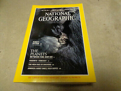 Lot 10 National Geographic Magazine Random Pick 1970s - 2010s No duplicate