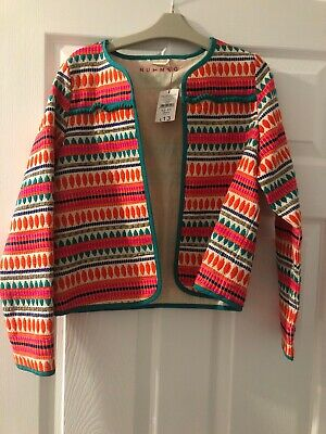 Girls Age 10-11 Light Summer Jacket New With Tags