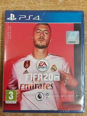 fifa 20 ps4. Brand new. Still has cellophane wrapping on