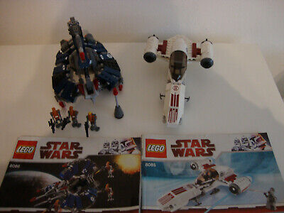 LEGO Star Wars, 8085,8086, Freeco Speeder, Droid Tri-Fighter, 2010, org. Pläne