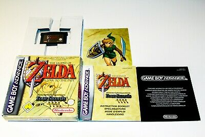 Zelda A Link To The Past + Four Swords - Game Boy Advance - Nintendo - Complete