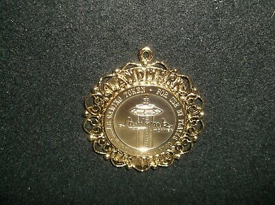 1969 Pendant $1 Gaming Token Landmark Tower  Hotel And Casino Las Vegas Nevada
