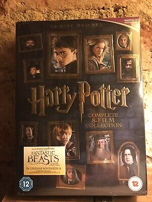 Harry Potter DVD Box Set 1-8 Complete 8 Film Collection