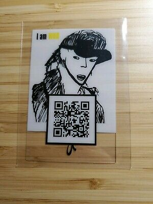 Changbin Stray Kids Drawing Photocard OFFICIAL I Am Who