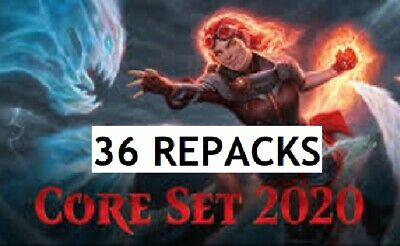 CORE 2020 - Magic Gathering REPACK 36 Pack Booster Box 2 Myhics + FREE SHIPPING!