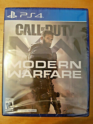 CALL of DUTY MODERN WARFARE PS4 2019 BRAND NEW - FAST FREE SHIPPING