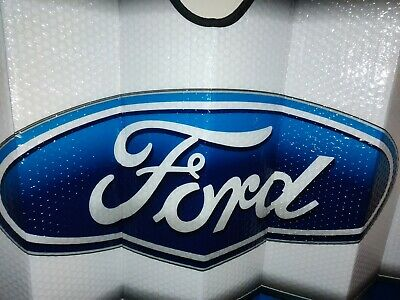 Ford Sun Visor Shade Sun Protector Window Big Logo Universal Thick Official