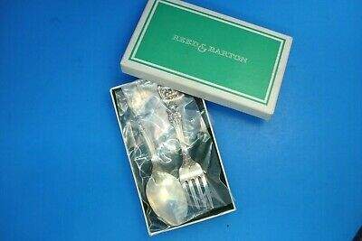 Reed & Barton Sterling Silver Child's Fork & Spoon Set--Francis I--Boxed--Sealed