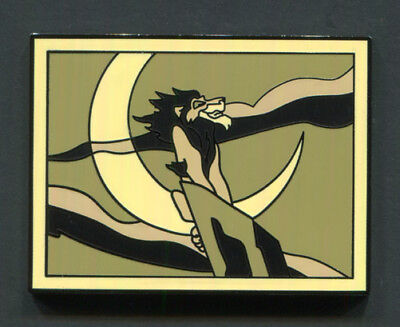 """Disney Pin """"SCAR"""" on Rock Chaser 2017 Disney Films Mystery Collection  Lion King"""