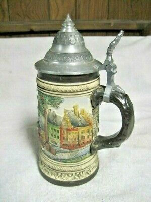 "Vintage Ceramic ""Handerbeit"" 3D Stein, West Germany"