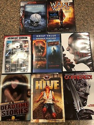 Eight (8) USED DVD LOT BUNDLE #5...See list of included movies