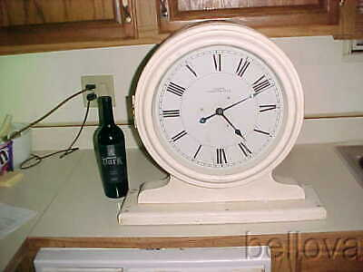 E Howard   Oak Bank Clock  -  Double Face Slave Clock -  Gallery Clock