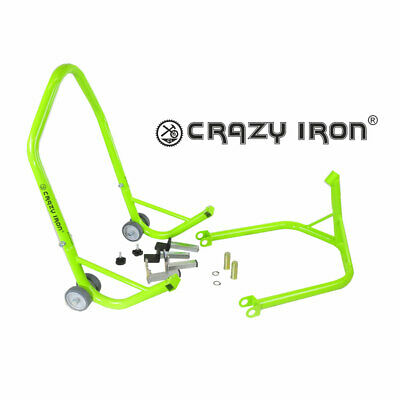 CRAZY IRON Universal Motorcycle Lifter PRO GREEN