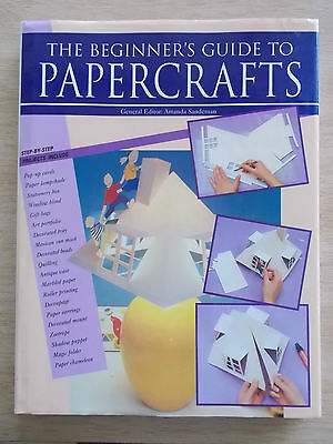 The Beginner's Guide To Papercrafts~Quilling~Zoetrope~Cards~Beads~Lampshade~HBWC