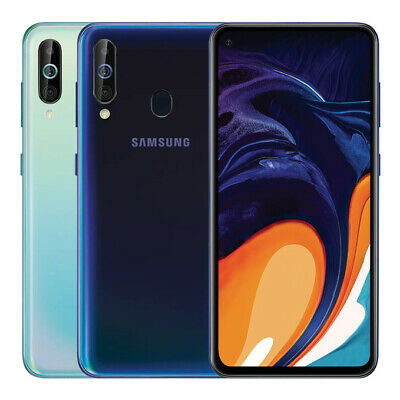 """Samsung Galaxy A60 6.3"""" Android 4G Smartphone 6GB 128GB Handy OCTA CORE NFC"""