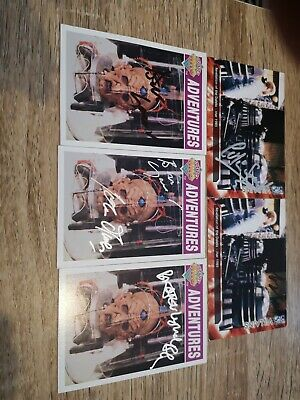 Signed Dr Who Trading Cards Revelation bundle
