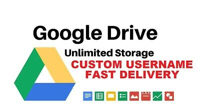 Google Drive Unlimited Storage Account