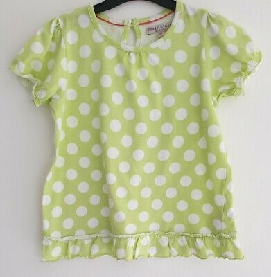 Marks & Spencer, M&S Indigo, Girls Green Spot Top, Age 5-6 Years