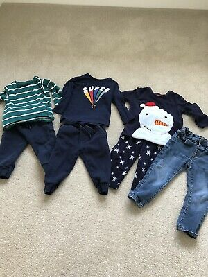 Boys 12-18 Months Bundle Clothes And Pyjamas Marks And Spencer Next