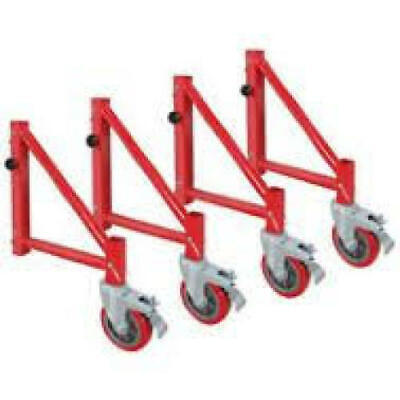 Louisville Ladder 398007A Outriggers for Rolling Tower Scaffold (Set of 4) New
