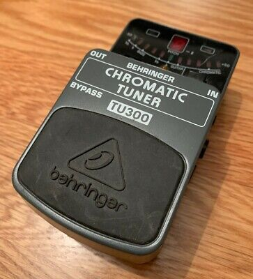 Behringer tu300 Pedal tuner Good working condition