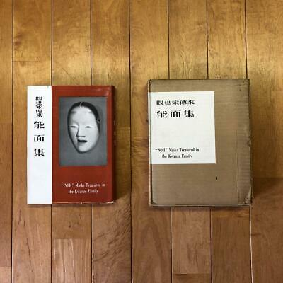 Noh mask collection of old books Antique
