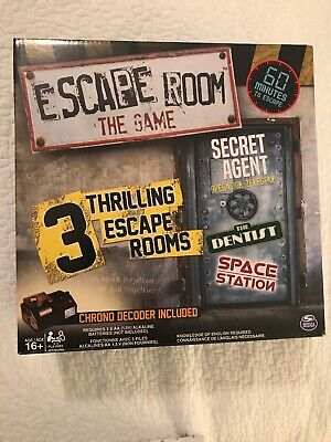 Escape Room: The Game with 3 Thrilling Escape Rooms, Newest Version